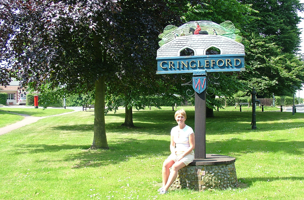 cringleford sign